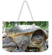 Common Snapping Turtle Weekender Tote Bag