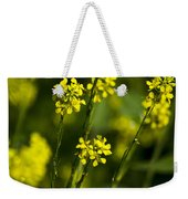 Common Wintercress Flowers Weekender Tote Bag