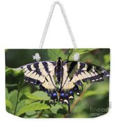 Common Yellow Swallowtail Weekender Tote Bag