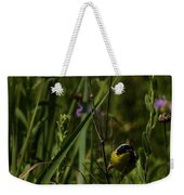 Common Yellow Throat Weekender Tote Bag