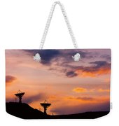 Communications To The Stars Weekender Tote Bag