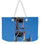 Communications Tower Weekender Tote Bag