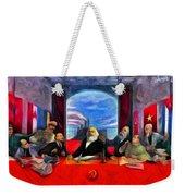 Communist Last Supper Weekender Tote Bag