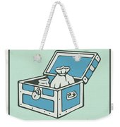 Community Chest Vintage Monopoly Board Game Theme Card Weekender Tote Bag