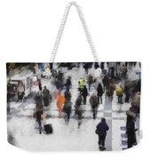 Commuter Art Abstract Weekender Tote Bag