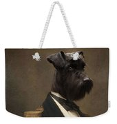 Sir Schnauzer The Magnificent Weekender Tote Bag