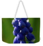 Compact Grape-hyacinth Weekender Tote Bag