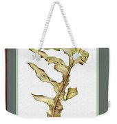 Compass Plant, Fall Weekender Tote Bag