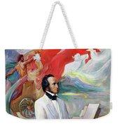Composer Felix Mendelssohn Weekender Tote Bag