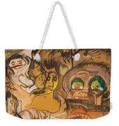 Composition Green Eye Weekender Tote Bag