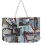 Composition In Blue 1 Weekender Tote Bag