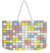 Composition With Grid Ix Weekender Tote Bag