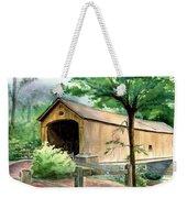 Comstock Bridge Weekender Tote Bag