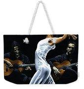 Concentracion Del Funcionamiento Del Flamenco Weekender Tote Bag