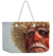Concerned Weekender Tote Bag by James W Johnson