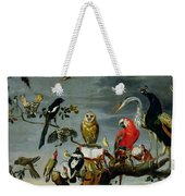 Concert Of Birds Weekender Tote Bag