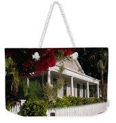 Conch House In Key West Weekender Tote Bag by Susanne Van Hulst