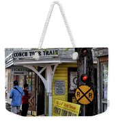 Conch Tour Train Stop Weekender Tote Bag