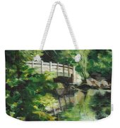 Concord River Bridge Weekender Tote Bag