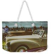 Concours Vintage Car Show Weekender Tote Bag