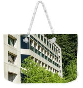 Concrete And Glass Weekender Tote Bag