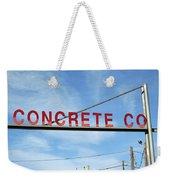 Concrete Company Weekender Tote Bag
