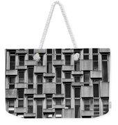Concrete Geometry  Weekender Tote Bag