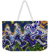 Condos On The Beach Abstract Weekender Tote Bag
