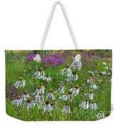 Cone Flower Fairy Dance Weekender Tote Bag