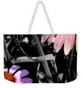 Cone Flower Tapestry Weekender Tote Bag