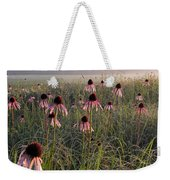 Coneflowers At Dawn Weekender Tote Bag