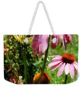 Coneflowers In Garden Weekender Tote Bag