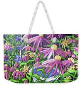 Coneflowers In Gentle Wind Weekender Tote Bag