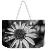 Conehead Daisy In Black And White Weekender Tote Bag