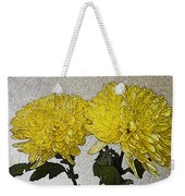 Conversations In The Flower Garden Weekender Tote Bag