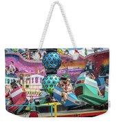 Coney Island Amusement Ride Weekender Tote Bag