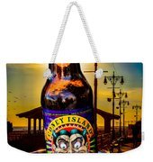 Coney Island Beer Weekender Tote Bag