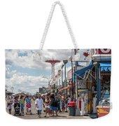 Coney Island Boardwalk II Weekender Tote Bag