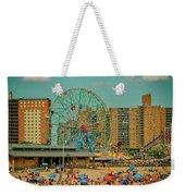 Coney Island Weekender Tote Bag