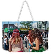 Coney Island Girls Weekender Tote Bag