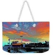 Coney Island In Living Color Weekender Tote Bag