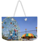 Coney Island Memories 6 Weekender Tote Bag