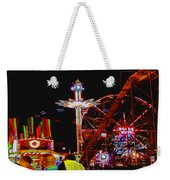 Coney Island Opening Day In Brooklyn New York Weekender Tote Bag