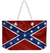 Confederate Flag - Second Confederate Navy Jack And The Battle Flag Of Northern Virginia Weekender Tote Bag