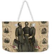 Confederate Generals Of The Civil War Weekender Tote Bag