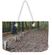 13 Unknown Confederate Soldiers - Natchez Trace Weekender Tote Bag