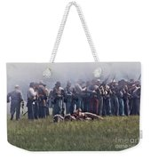 Confederate Infantry Skirmish  Weekender Tote Bag