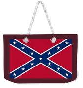 Confederate Naval Jack Flag Weekender Tote Bag