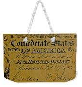 Confederate States Weekender Tote Bag