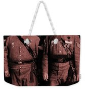 Confederate Tintype Civil War Weekender Tote Bag